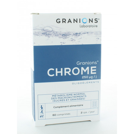 Granions Chrome 60 comprimés
