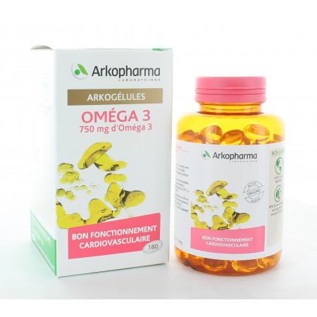 Arkopharma Arkogélules Oméga 3 180 gélules