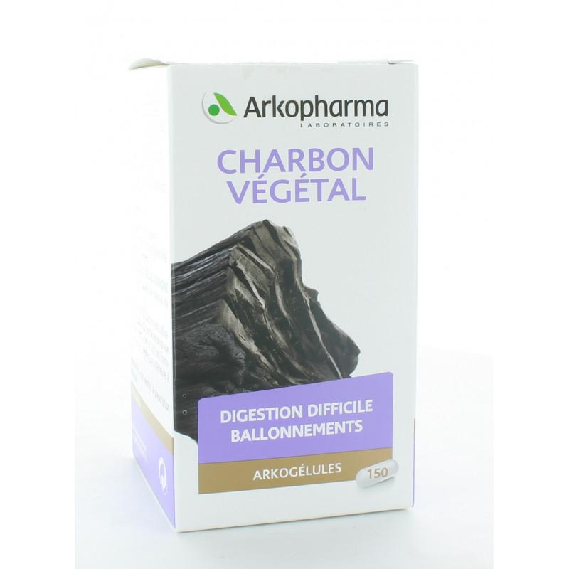 Arkopharma Arkogélules Charbon Végétal 150 gélules