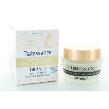 Natessance Lift' Argan Crème-Huile Nuit 50ml