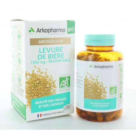 Arkopharma Arkogélules Bio Levure de Bière 150 gélules