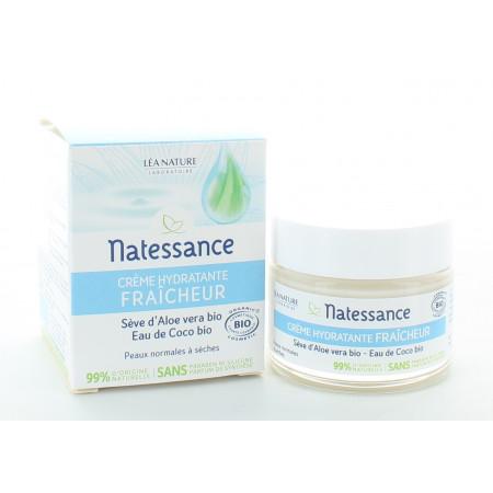 Natessance Crème Hydratante Fraîcheur 50ml