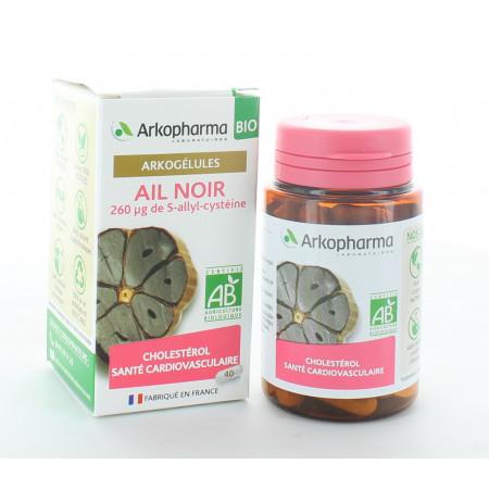 Arkopharma Arkogélules Bio Ail Noir 40 gélules