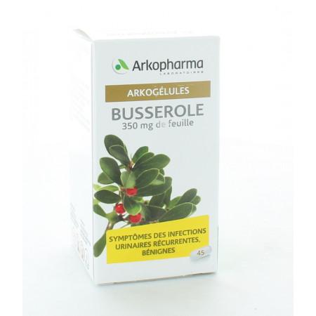 Arkopharma Arkogélules Busserole 45 gélules