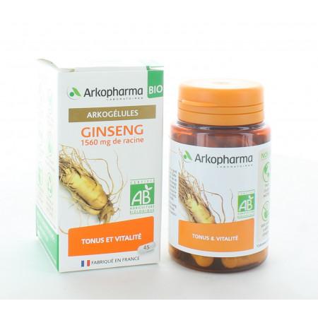 Arkopharma Arkogélules Bio Ginseng 45 gélules