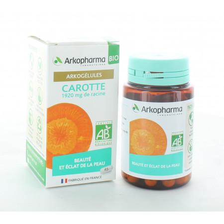 Arkopharma Arkogélules Bio Carotte 45 gélules