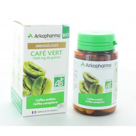 Arkopharma Arkogélules Bio Café Vert 45 gélules