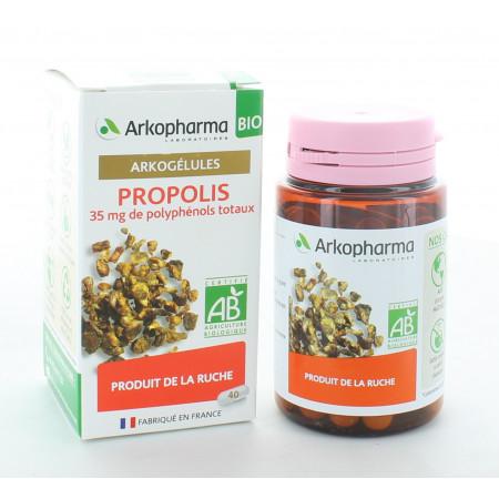 Arkopharma Arkogélules Bio Propolis 40 gélules