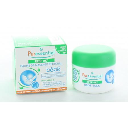Puressentiel Resp OK Bébé Baume de Massage Pectoral 30ml