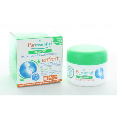 Puressentiel Resp OK Enfant Baume de Massage Pectoral 60ml