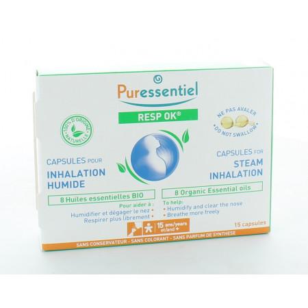 Puressentiel Resp OK Capsules Inhalation Humide X15