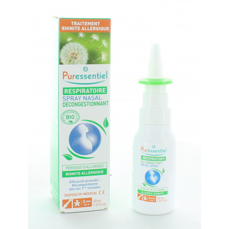 Puressentiel Respiratoire Spray Nasal Allergies 30ml