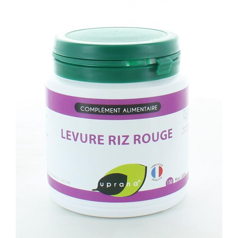 Uprana Levure Riz Rouge 150 Maxi-gélules