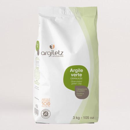 Argiletz Argile Verte Granulée 3kg