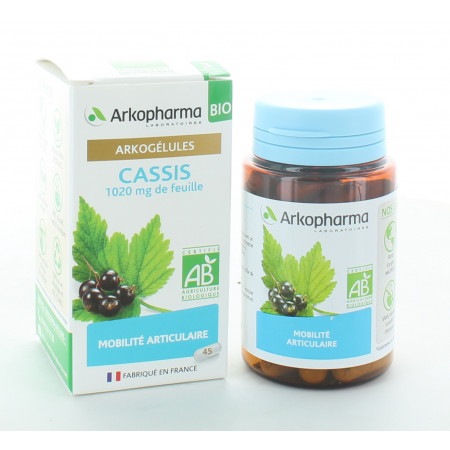 Arkopharma Arkogélules Bio Cassis 45 gélules