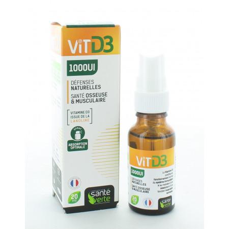 Santé Verte VitD3 1000UI 20ml