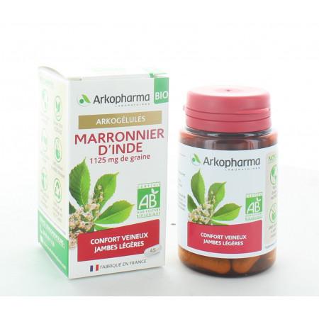 Arkopharma Arkogélules Bio Marronnier d'Inde 45 gélules