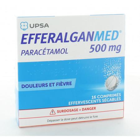 Efferalganmed 500 mg 16 comprimés effervescents