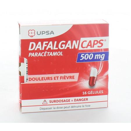 Dafalgan Caps 500mg 16 gélules