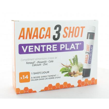 Anaca3+ Ventre Plat 14 unidoses