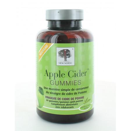 New Nordic Apple Cider Gummies X60
