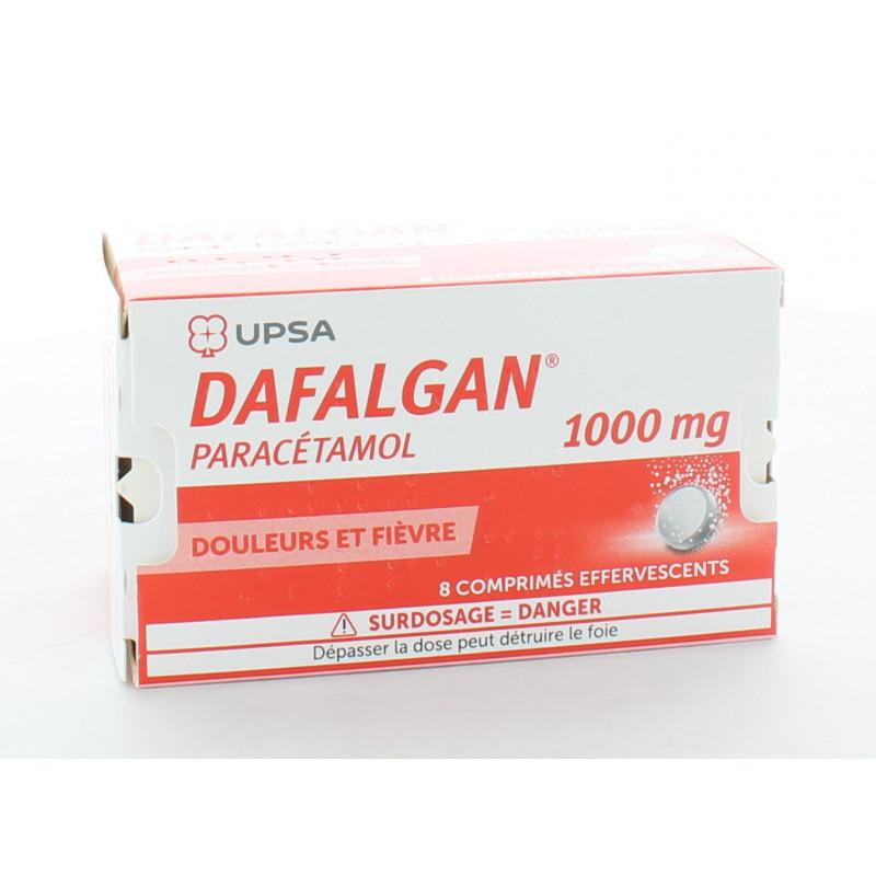 Dafalgan 1000mg 8 comprimés effervescents