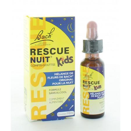 Bach Rescue Nuit Kids Compte-goutte 10ml