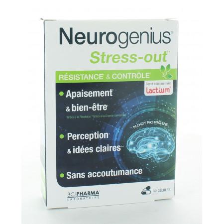 Neurogenius Stress-out Résistance & Contrôle 30 gélules
