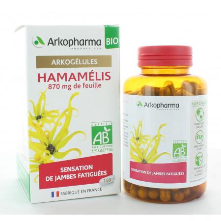 Arkopharma Arkogélules Bio Hamamélis 150 gélules