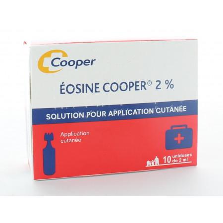 Éosine Cooper 2% 10X2ml