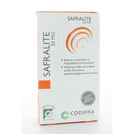 Codifra Safralite 30mg 28 gélules