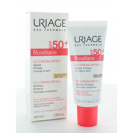 Uriage Roséliane CC Cream Claire SPF50+ 40ml