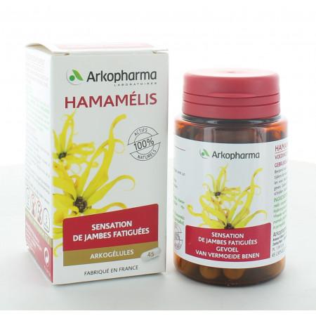Arkopharma Arkogélules Bio Hamamélis 45 gélules