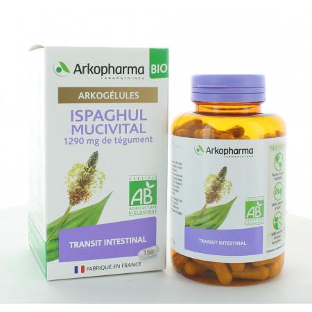 Arkopharma Arkogélules Bio Ispaghul Mucivital 150 gélules