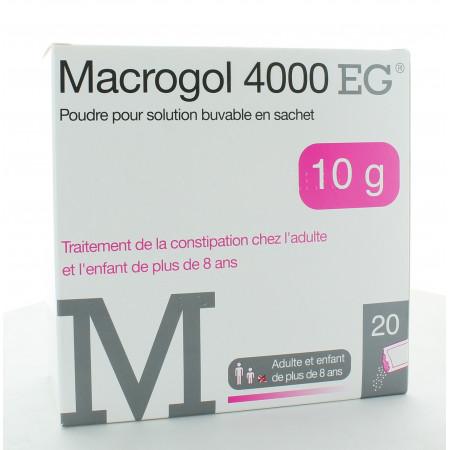 Macrogol 400 EG 20 sachets
