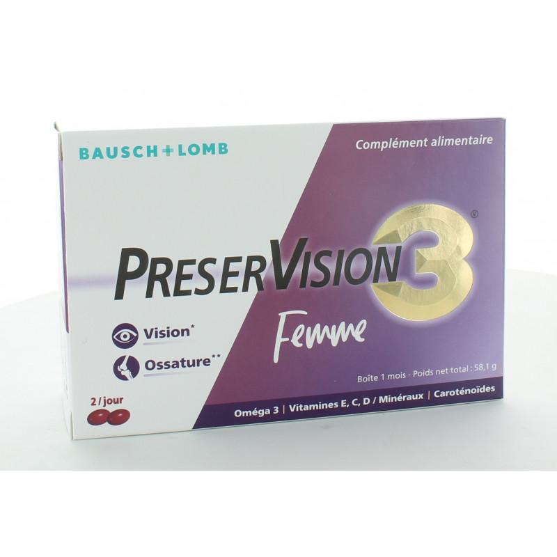 PreserVision 3 Femme 60 capsules