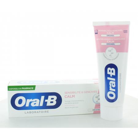 Oral-B Dentifrice Calm Sensibilité & Gencives 75ml