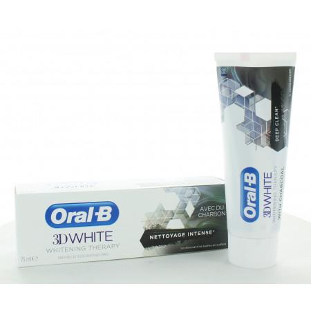 Oral-B Dentifrice 3D White au Charbon 75ml