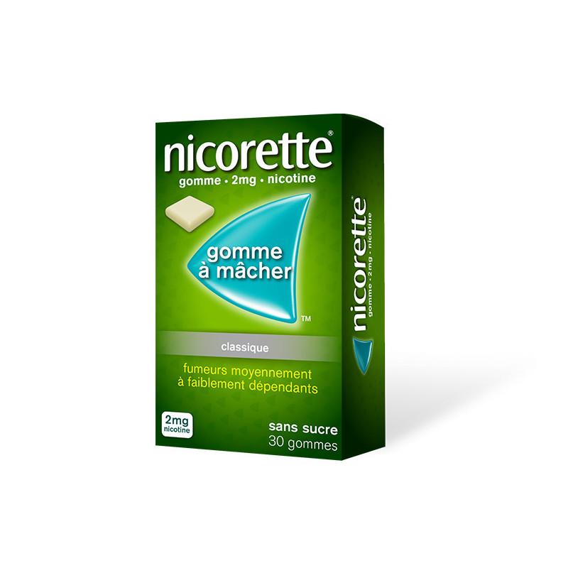 Nicorette 2 mg 30 gommes