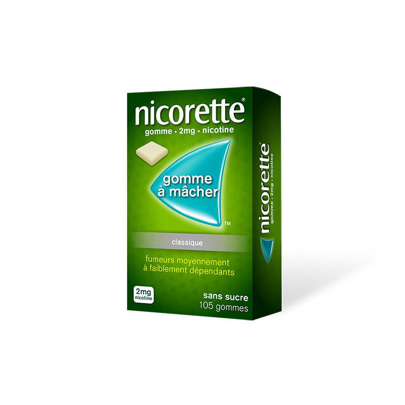 Nicorette 2 mg 105 gommes