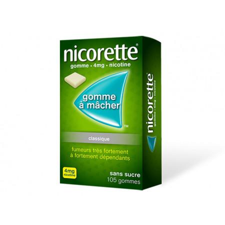 Nicorette 4 mg Original 105 gommes