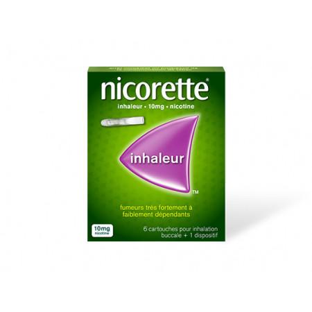 Nicorette Inhaleur 10mg 6 cartouches