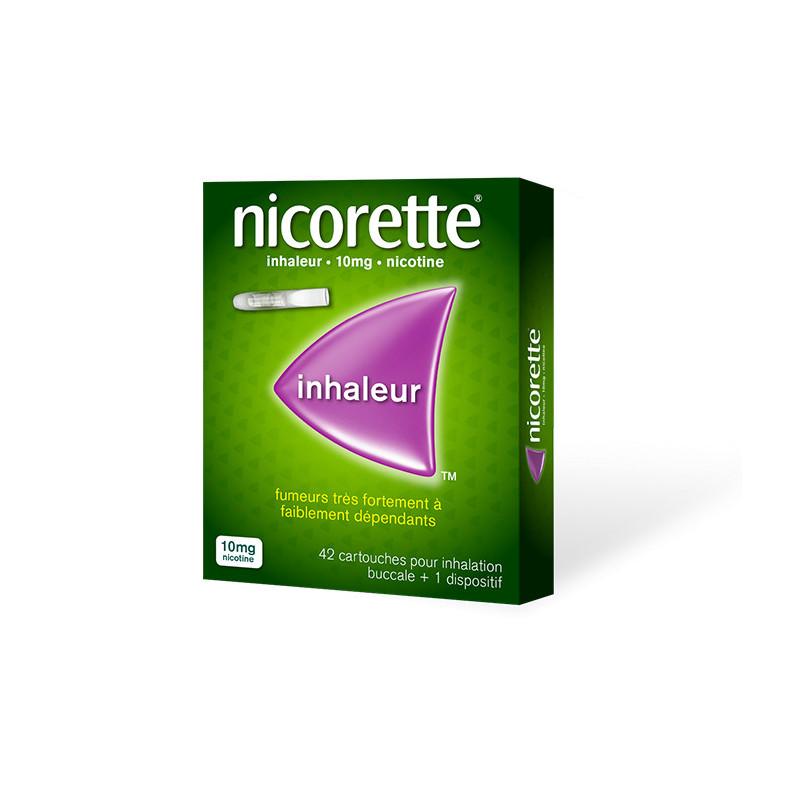 Nicorette Inhaleur 10 mg 42 cartouches