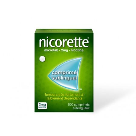 Nicorette Microtab 2mg 100 comprimés