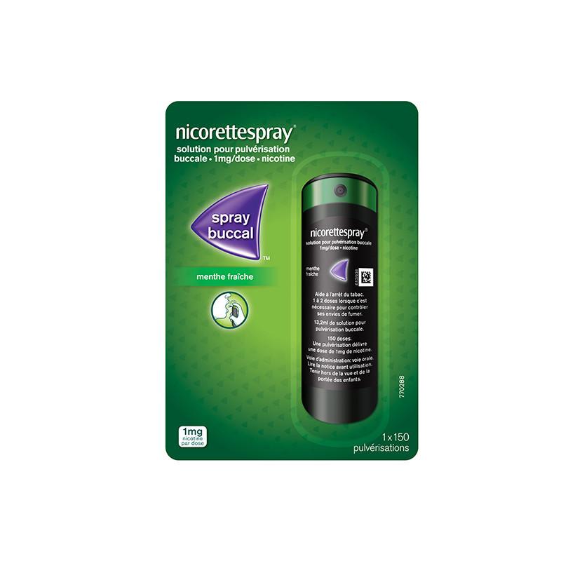 NicoretteSpray 1 mg / dose