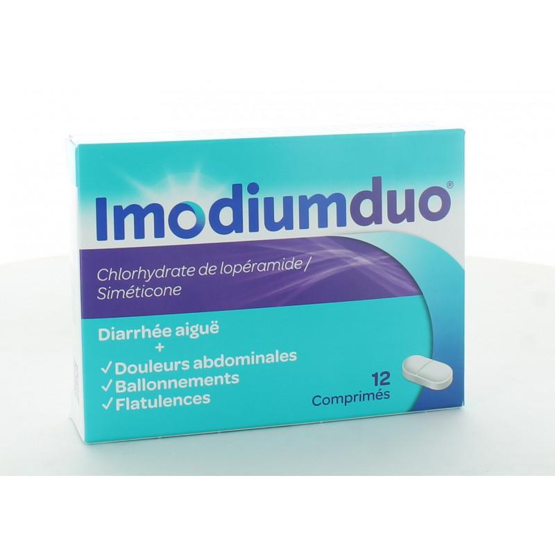 Imodiumduo 12 comprimés