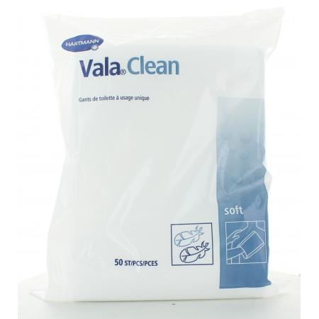 Gants de Toilette Vala Clean Hartmann X50 (Bleu foncé)