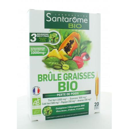 Santarome Bio Brûle Graisses 20 ampoules