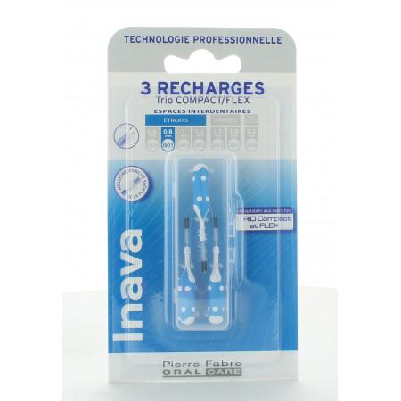 Inava Trio Compact/Flex Recharges 0,8mm X3