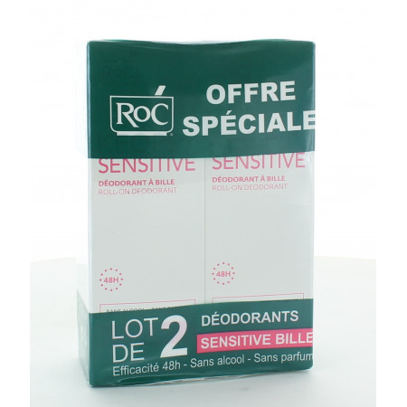 ROC Keops Sensitive Roll-on 2X30ml